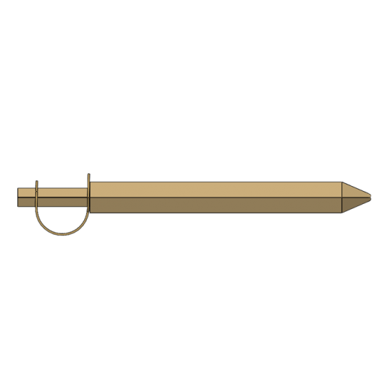 Epée chevalier