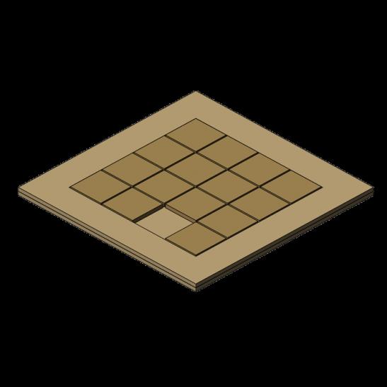 Puzzle coulissant