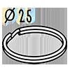 anneau 25