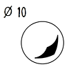bille en acier 10