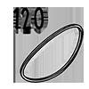 élastique 120