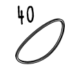 élastique 40