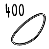 élastique 400