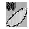 élastique 80