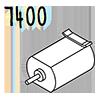 moteur elec. 7400